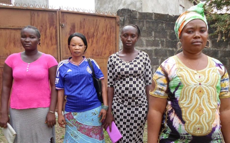 Salone Girls Group in Sierra Leone